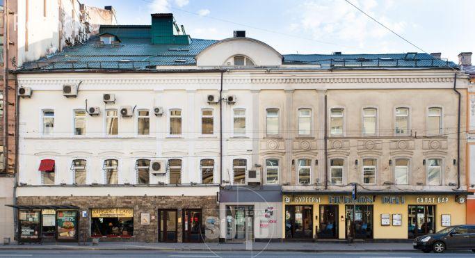 1-я тверская-ямская улица, дом 25, строение 1 на карте москвы