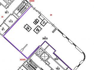 Аренда помещения свободного назначения 255 м²
